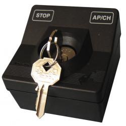 Boitier interrupteur commutateur selecteur a clef applique montage saillie automatismes