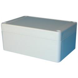 Caja pvc hermetica 125x 85x55mm para bateria recargable 12v1 aplicaciones electronicas cajs plastico hermerticas baterias