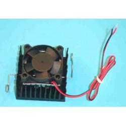 Ventilador 12v por procesor con radiator por socket 7