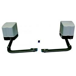 Kit automatisme portail 220v 2 vantaux easykit02s bras articule moteur operateur electromecanique