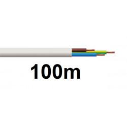 Cable electrique h05vv-f 3g0,50 mm² 3x0.5 3 fils souple h05vvf 0,50mm2 ø6mm (100m) secteur