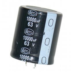 Condensador 10 000 micro faradio 63v cdchrs163v10kmf condo piezas electrónica capacidad