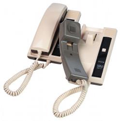 Sprechanlage mit draht und horer mit 2 posten auf dem buro oder auf dem wand interkommunikation