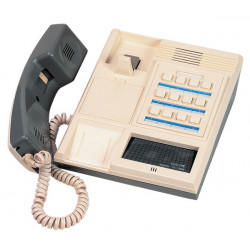 Combine interphone station 12 postes maitre a poser sur bureau fixer au mur intercommunication p666f
