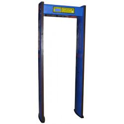 Portique securite metal gare aeroport exposition foire ecole detecteur metaux alarme ts1200