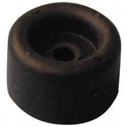 Foot diameter 21 mm black rubber qupc73521 parts, accessories