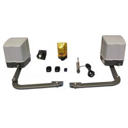 Kit automatisme portail 220v 2 vantaux a bras articule easykit02 moteur operateur electromecanique