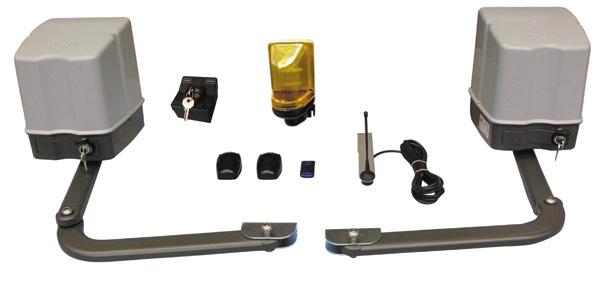 Cancello Elettrico A Due Ante.Kit 2 Ante Cancello Automatico 220v Motore Elettrico Ha Dell