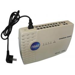 Telefonzentrale 4 anschlusse 16 terminals zubehor fur telefon telekommunikation telefonzentrale fax pabx