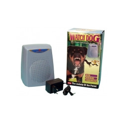 Noleggio 7 giorni motion detector con audio allarme cane da guardia elettronico a radar volumetrico 220vca 12vcc abbaiamento can