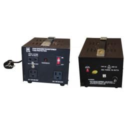 Alquiler de 1 a 7 días Convertidor de tension de 220v hacia 110v 750w modificador de tension cambio corriente