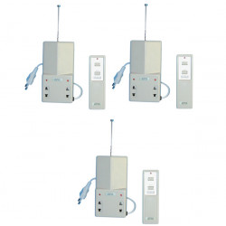 Interruptor electrico radio a distancia 1 canal 10 30m 220vca iluminacion domotica alarma sono enchufe