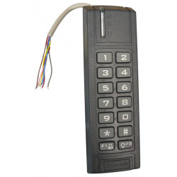Outdoor keypad