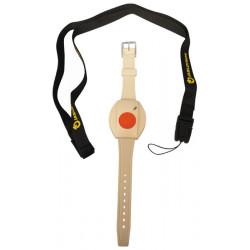 Wireless wrist button