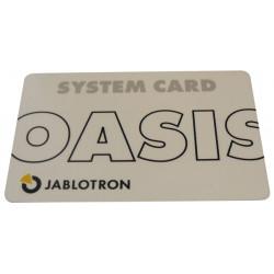 Tarjeta magnetica rfid para lector de tarjeta magnetica ja80f y ja80h jablotron