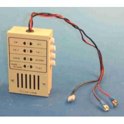Noleggio registratore messaggio audio (1-7 giorni) per il trasmettitore ttel telefono