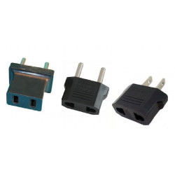 Travel adapter electric 3 pcs adapter 6a euro male adapter to american euro female ac adaptor electric adapters euro male adapte