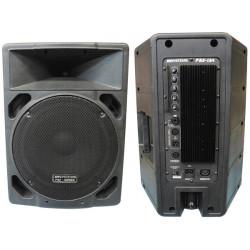 Attivo speaker audio 200w 230vac jbs psx12a emplifier rms/8ohms 350wrms/4ohms xlr mic / line