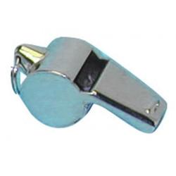 Sifflet metal à bille roulette special police militaire securite arbitre boite de nuit
