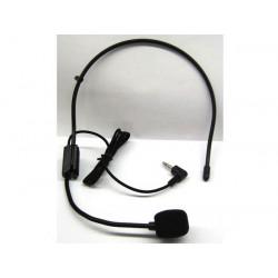 Microfono casco recarga para amplificador de su publico address pa5w micro casco pa5n sp1