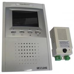Moniteur surveillance video couleur 4'' 8cm supplémentaire pour portier video ph812ca 812co