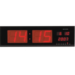 Led display wall clock