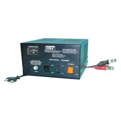Cargador electronico bateria accu 12vcc 24vcc coche 220vca 10a acumulador 12v 24v