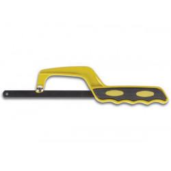 Mini hacksaw with soft grip