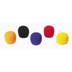 Jbsystems jb 416 5 protectores de microfono (anaranjado, negro, azul, rojo y amarillo)