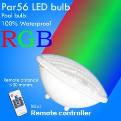 Lámpara led para piscina sylvania par56 rgb 12v 25w