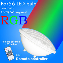 Swimming pool led lamp sylvania par56 rgb 12v 25w