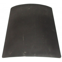Bullet proof plate front protection for anti bullet vest gicp protection class ii security policy
