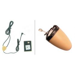 Mini ear audio wireless auricolari + sy 20 spionaggio discreto ascolto