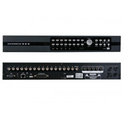 Digital 16 channel multiplexer quad mpeg 4 recorder ethernet usb
