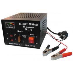 Cargador electronico bateria recargable auto 220vca 6 12vcc 4a (cofre metal) 6v 12v