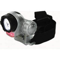 Torcia 7 led illuminazione scosse la testa luce anteriore 5 bianco 2 rosso oulam15 bassa conso