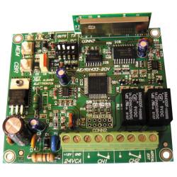 Multicanale ricevitore 2 ha autoapprendimento rolling code ae/rx433 2ch