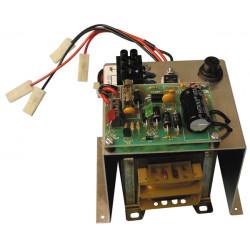 Cargador electronico automatico bateria recargable 220vca 27.6vcc 1.5a (sin caja metalica ) cargadores automaticos