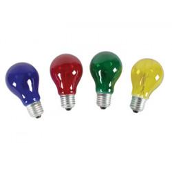 4 ampoule 220v 25w e27 lampxmpl4/20 pour guirlande rouge bleu vert jaune lampe decoration lumineuse