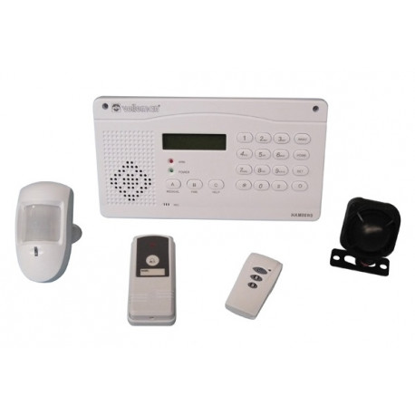 System wireless alarm transmission telephone ham06ws remote infrared touch
