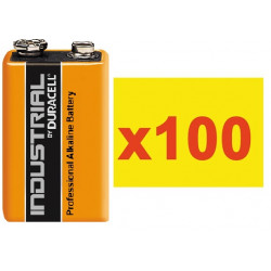 Battery 9v (the 100 batteries) alkaline 500ma minamoto 6lr61 6lf22 1604 batteries alkalines power supply