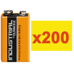 Battery 9v (the 200 batteries) alkaline 500ma minamoto 6lr61 6lf22 1604 batteries alkalines power supply