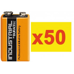 Battery 9v (the 50 batteries) alkaline 500ma minamoto 6lr61 6lf22 1604 batteries alkalines power supply