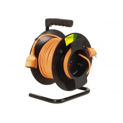 Garden cable reel 50m 3 x 1.5mm²