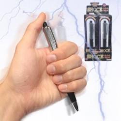 Stylo electrisant declenchement choc electrique farce et attrapes 8566 cadeaux