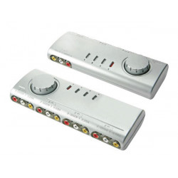Audio video selector 4 inputs and 1 output