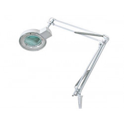 Lamp with magnifying glass 5 dioptre 22w white