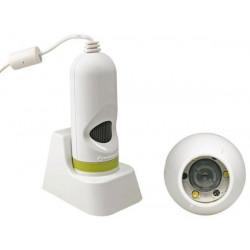 Usb microscopio digitale a colori del sistema di controllo di verifica di ingrandimento camcolms velleman