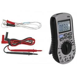 Digital autorange multimeter + no contact ac voltage detector