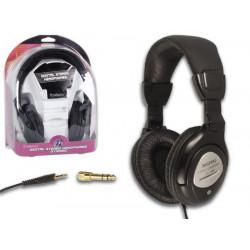 Casque stereo numerique hpd13 fiche 3.5mm ajustement automatique du bandeau 600mw 20 20000hz